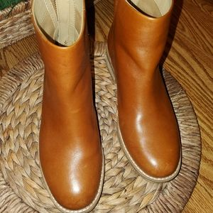 Sperry ankle boots.